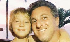 Filho de Angélica e Luciano Huck sofre acidente em passeio de lancha