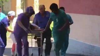Explosão em arsenal militar fere 31 pessoas na cidade Arys, no Cazaquistão