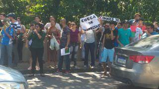 Aprovados no Concurso Público da Seduc-AM fazem manifestação