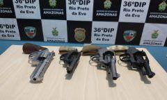 Servidor é suspeito de desviar dinheiro e vender armas apreendidas, no AM