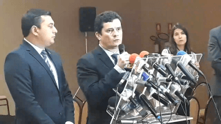 Ministro Sérgio Moro concede entrevista coletiva à imprensa amazonense