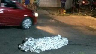 Homem é morto a tiros e moradores ficam assustados no Crespo
