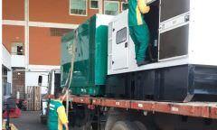Novos geradores chegam aos municípios de Iranduba e Manacapuru