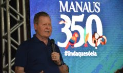 'O outro é um terror. Arrebentou Manaus', diz Arthur sobre Amazonino