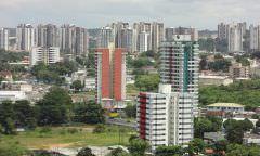 Construção do complexo viário da Constantino Nery chega a 20% da obra