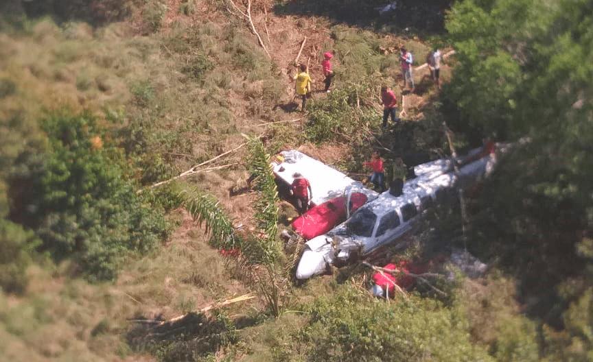 Avião que caiu em Autazes realizava transporte de um corpo