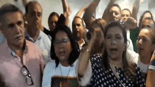 Servidores protestam contra projeto do governador Wilson Lima