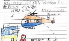 Crianças enviam cartas ao TJ contando medo de tiros e de caveirões