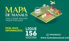 Mapa de Manaus: uma cidade melhor passa por aqui