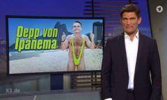 Programa humorístico alemão chama Bolsonaro de 'idiota de Ipanema'