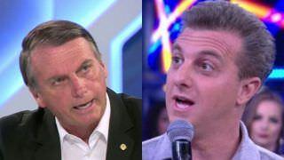 Bolsonaro manda indireta para Luciano Huck e diz que vai expor 'segredo'