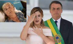 Michelle está arrasada após revelações sobre família, diz Bolsonaro