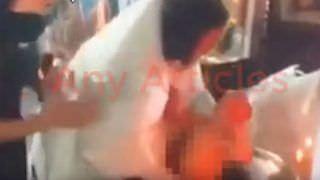 Padre é suspenso após quase afogar bebê durante batismo; veja
