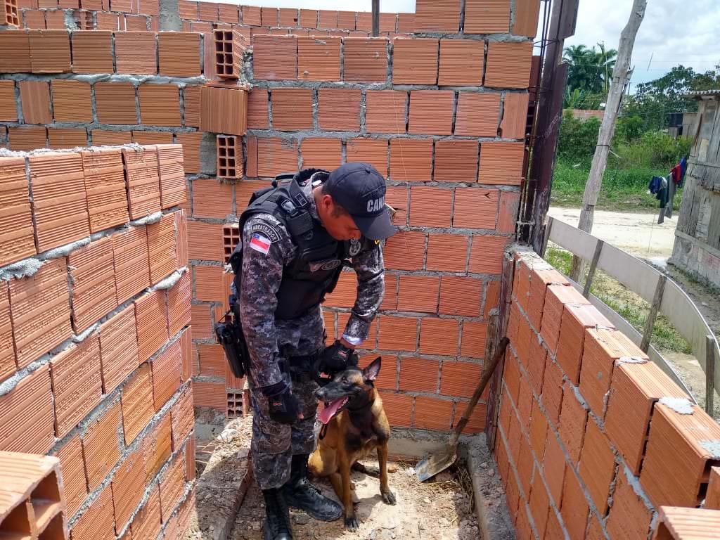 Corpo é encontrado enterrado em construção no bairro Nova Cidade