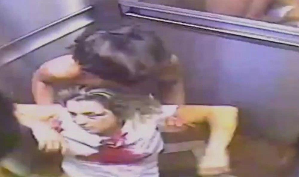 Vídeo mostra suspeito de matar empresária carregando corpo no elevador