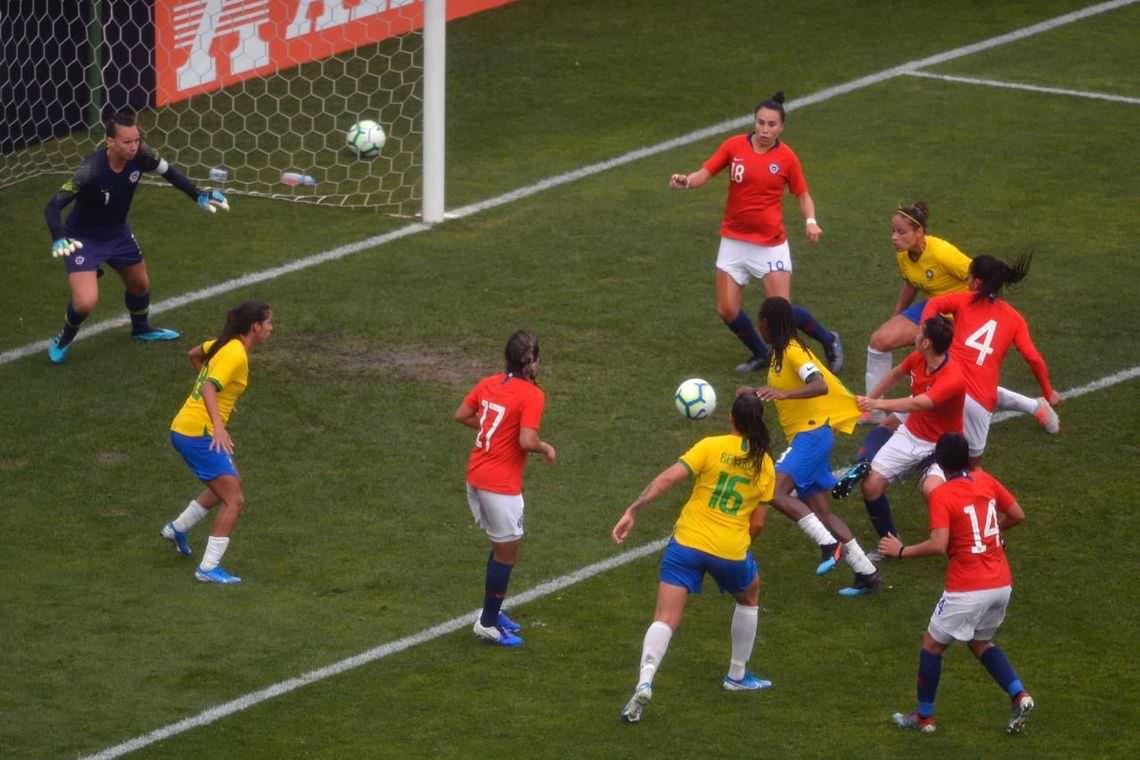 Seleção feminina é vice em Torneio Internacional de Futebol