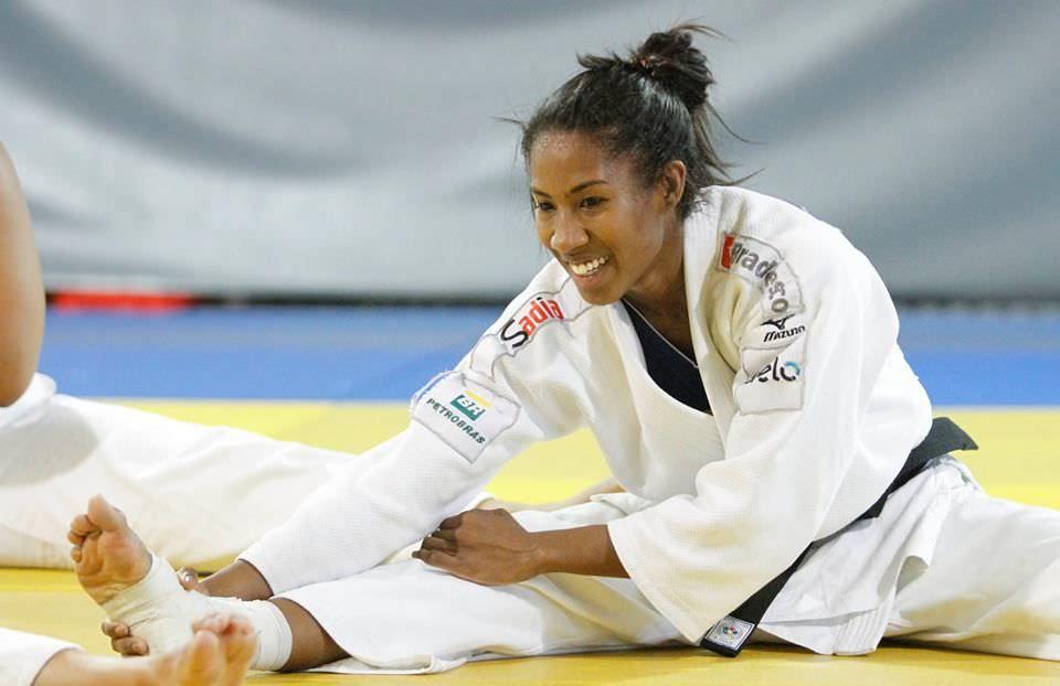 Ketleyn Quadros conquista bronze para o judô brasileiro no Grand Slam
