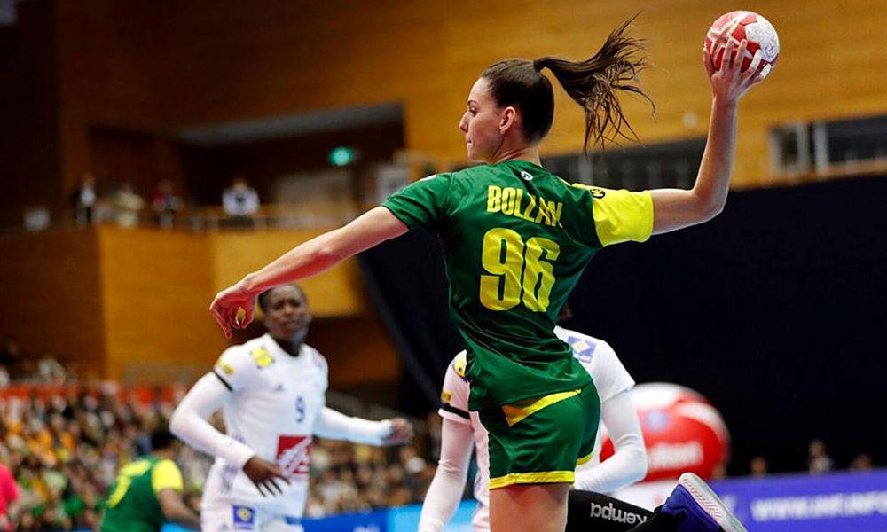 Seleção feminina de handebol termina Mundial na 17ª posição