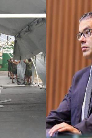 Exército desmente Josué Neto e diz que não montou hospital de campanha em Manaus