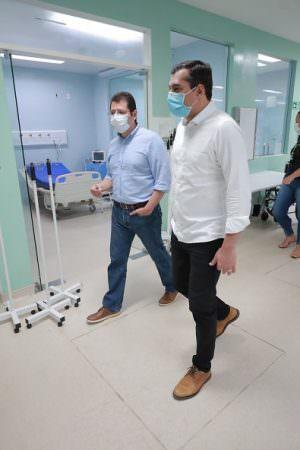 Hospital Nilton Lins deve começar a operar em 72 horas com 103 novos leitos