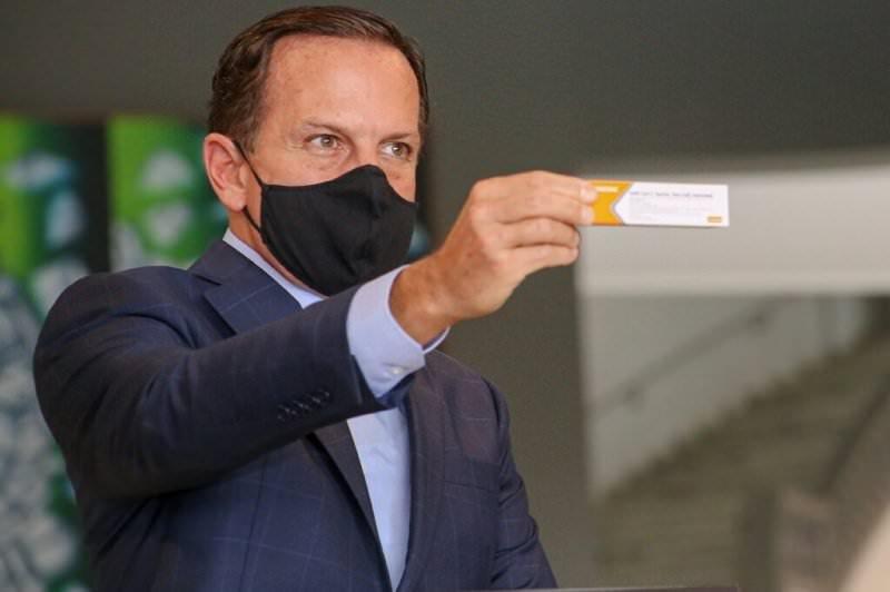 Governo Doria fará pré-cadastro para vacinar contra covid-19
