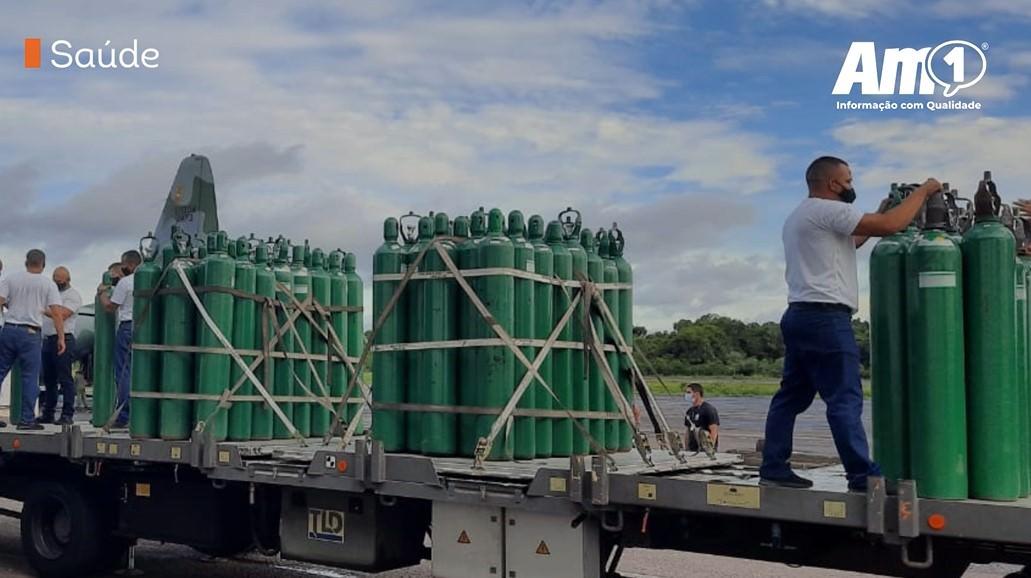 Wilson Lima anuncia força-tarefa para reforçar estoques de oxigênio
