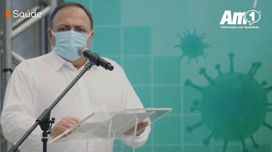 Ministro da Saúde diz que vacina chega ao Amazonas em 3 ou 4 dias após o aval da Anvisa