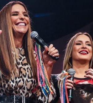 Ivete Sangalo e Claudia Leitte vão fazer live juntas no sábado de Carnaval