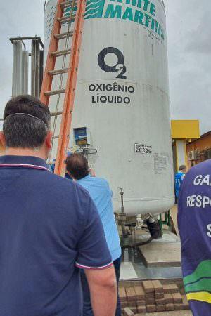 Sobe para 22 o número de usinas de oxigênio instaladas no Amazonas