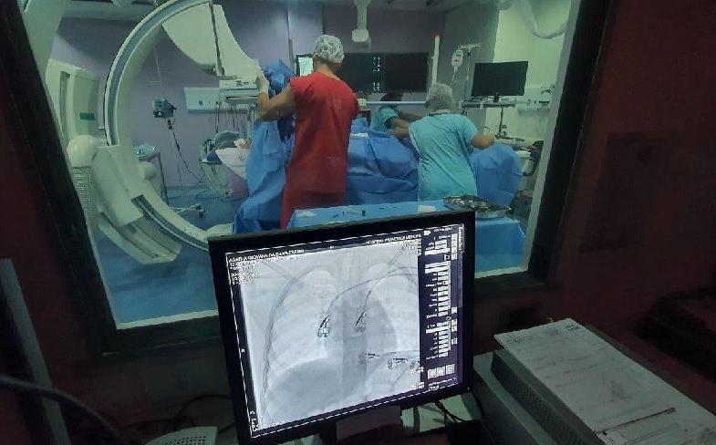 Fila da embolização é zerada no Hospital Francisca Mendes