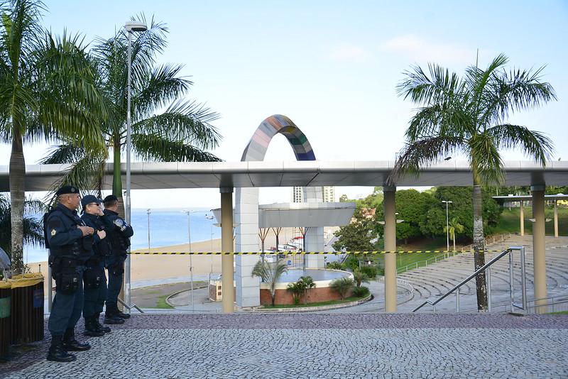 Interdição da praia da Ponta Negra é prorrogada até 15 de março
