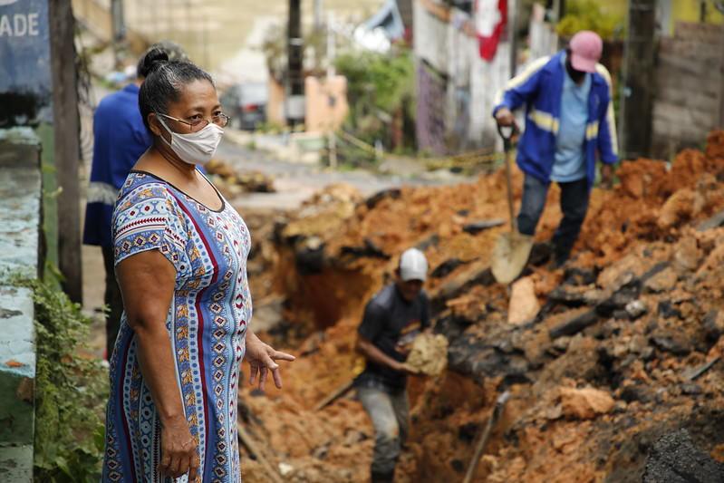 Seminf realiza obras emergenciais para evitar transtornos com as fortes chuvas em Manaus