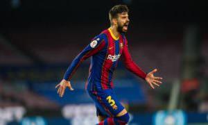 Lesionado, Piqué está fora da partida contra PSG