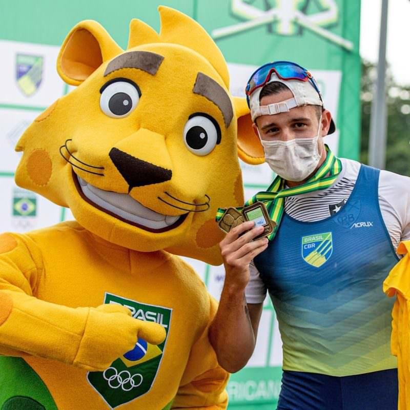 No Remo, Lucas Verthein vence e garante vaga na Olimpíada de Tóquio