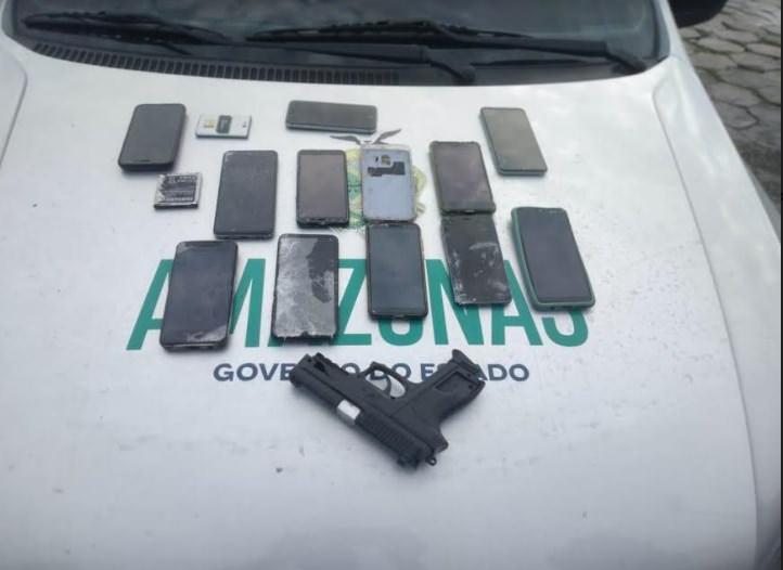 Assaltante que roubava em paradas de ônibus é preso em Manaus