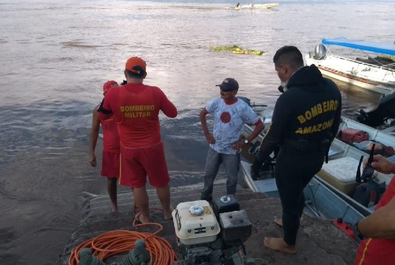 Cabo da PM cai em lago durante pescaria e desaparece no AM