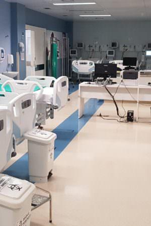 Com 180 leitos, Delphina Aziz  é o 3º hospital do país em números de UTI