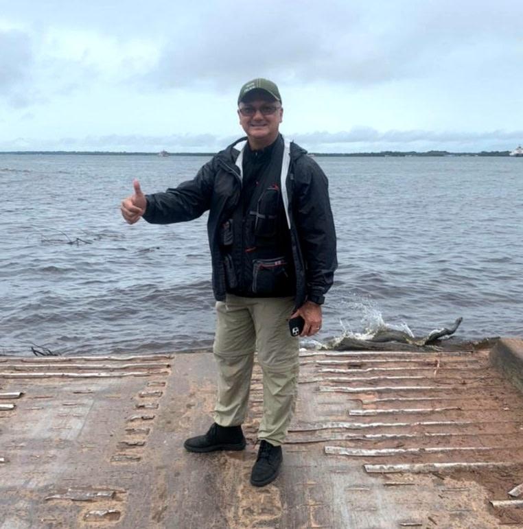 Já em campanha para 2022, Menezes inicia excursão pela BR-319