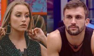 Carla Diaz e Arthur discutem a relação e cogitam terminar namoro
