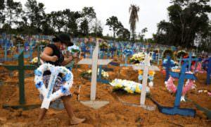 Cemitérios de Manaus registram 58 sepultamentos nesta Sexta-feira