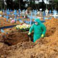 Manaus registra um total de 63 sepultamentos nesta quarta-feira