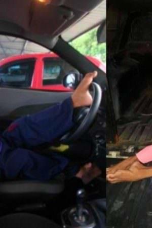 Após pagar fiança, suposto 'piloto de fuga' sem braços é liberado em Manaus
