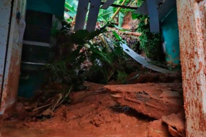 Homem morre após muro desabar durante forte chuva em Manaus