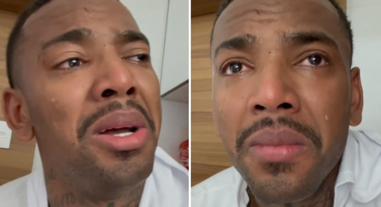 Nego do Borel chora e faz desabafo : 'não aguento mais'