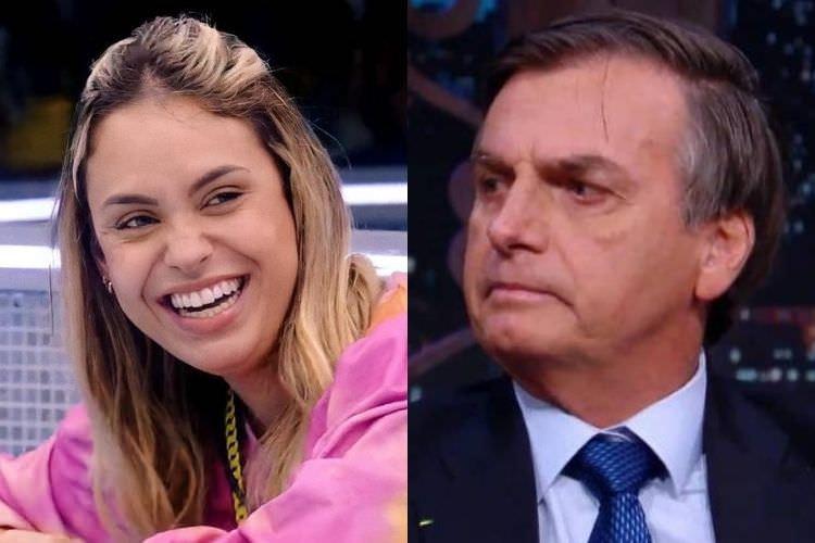 Sarah diz que deixou de seguir Jair Bolsonaro antes de entrar no BBB