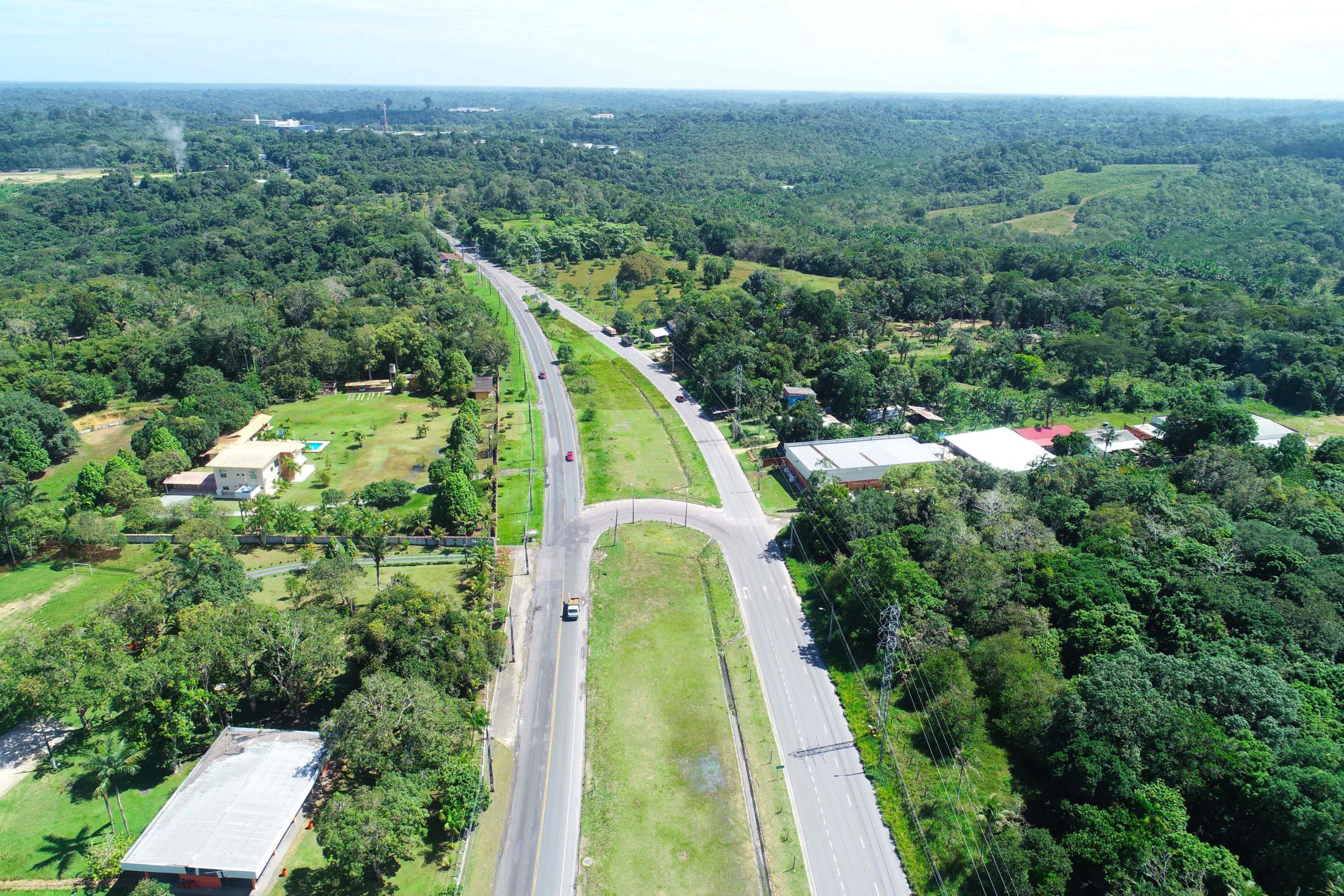 Projeto de reforma e modernização da AM-010 prevê investimento de R$ 386 milhões