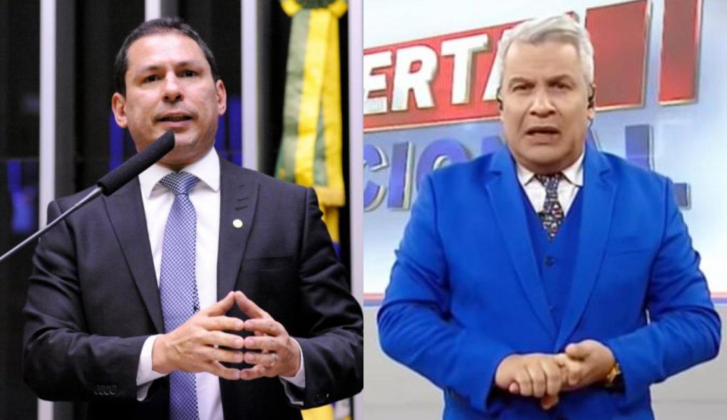 """Marcelo Ramos ironiza Sikêra Jr. tomando CoronaVac: """"Faça como ele: não pegue corda dele e vacine-se"""""""
