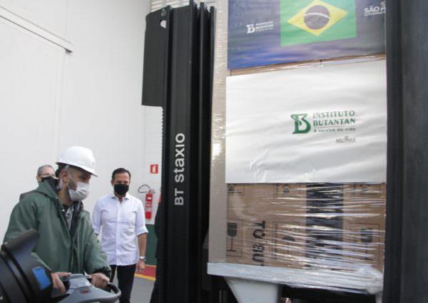Butantan confirma chegada de insumos para Coronavac