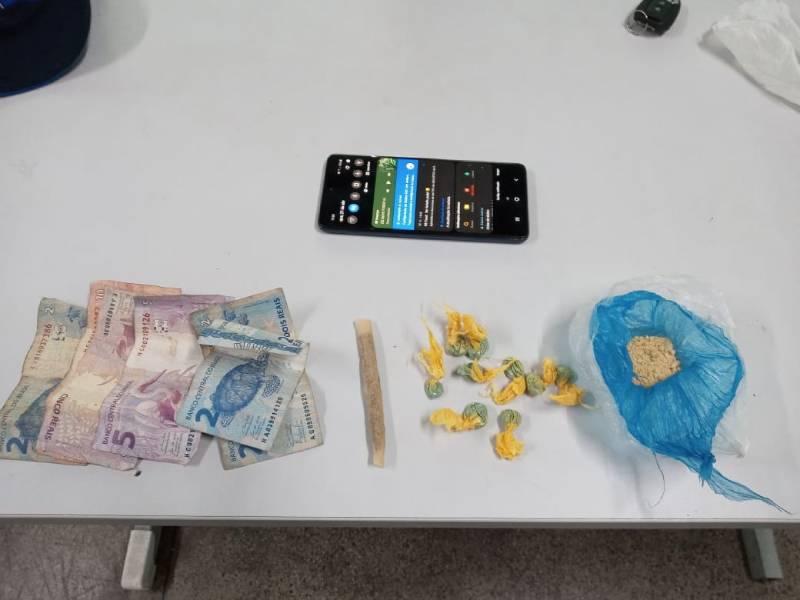 Suspeito de comercializar drogas é preso na Manaus Moderna