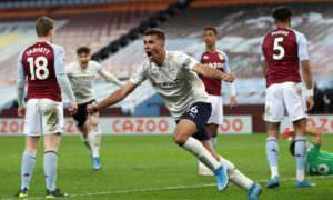 City vence o Aston Villa e abre 11 pontos na liderança do Campeonato Inglês